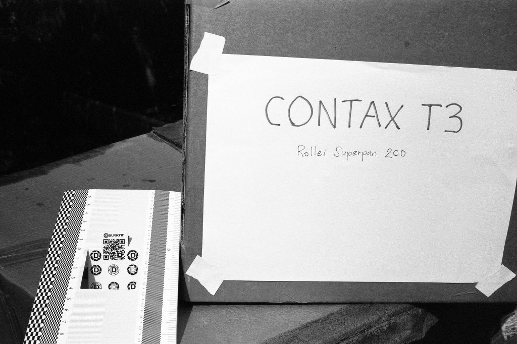 Contax T3 - Now this is what I call sharp