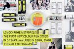 LomoChrome Metropolis, the first new colour film stock in 5 years- available in 16mm, 35mm, 110 and 120 formats