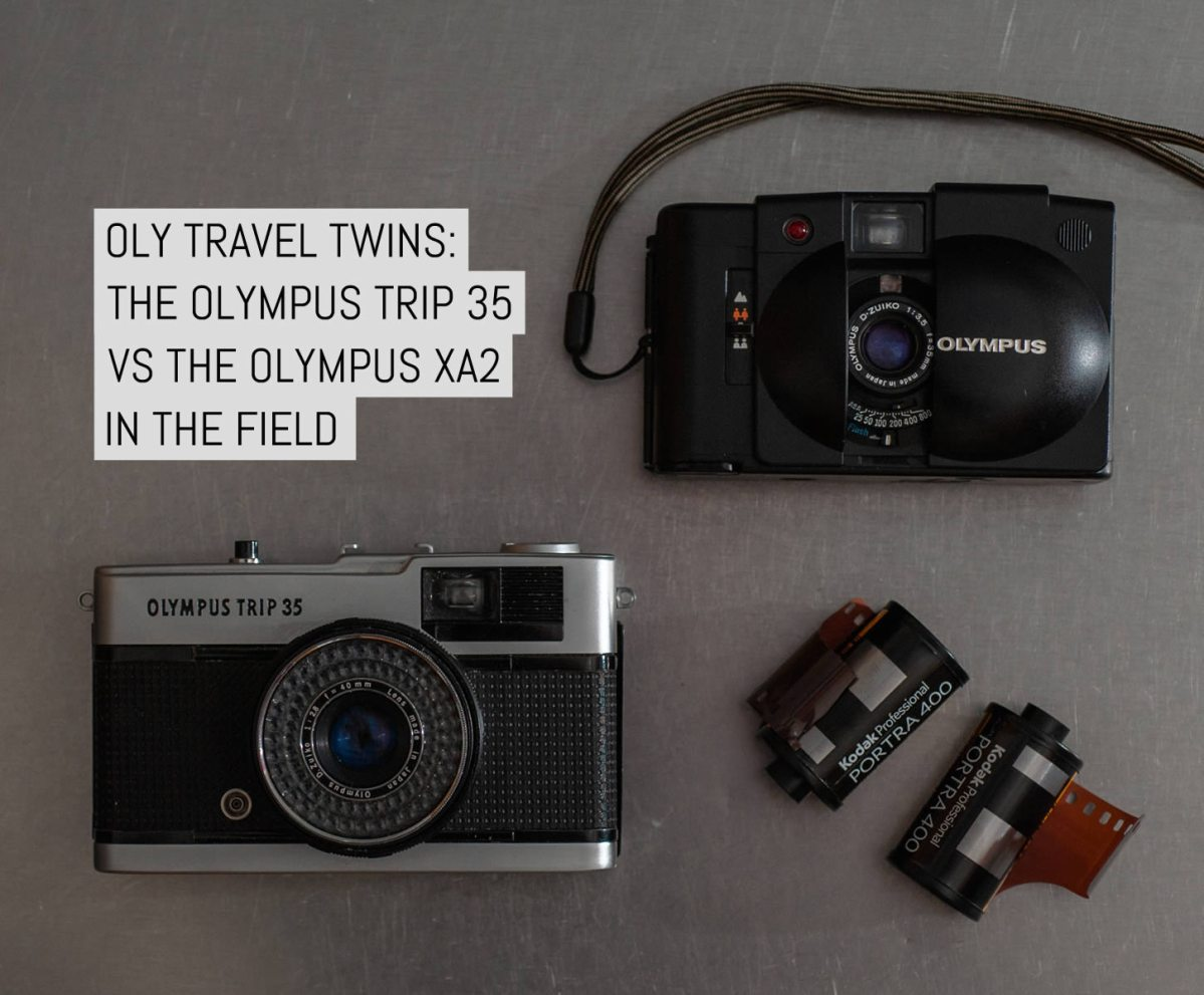 Cover: Oly travel twins - The Olympus Trip 35 vs the Olympus XA2 in the field