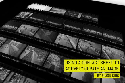 Cover: Using a contact sheet to actively curate an image - by Simon King
