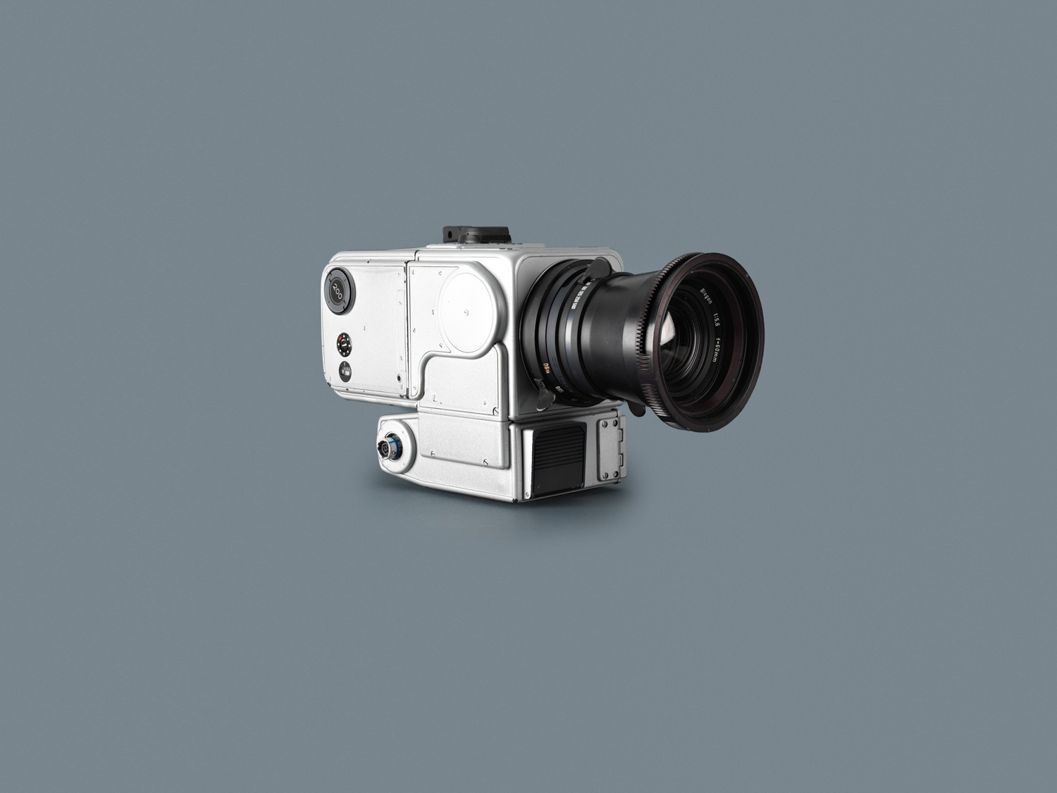 Hasselblad HDC (Hasselblad Data Camera) - silver for EV activities, used on Apollo 8, 9, 10, 11 flights. Credit: Hasselblad