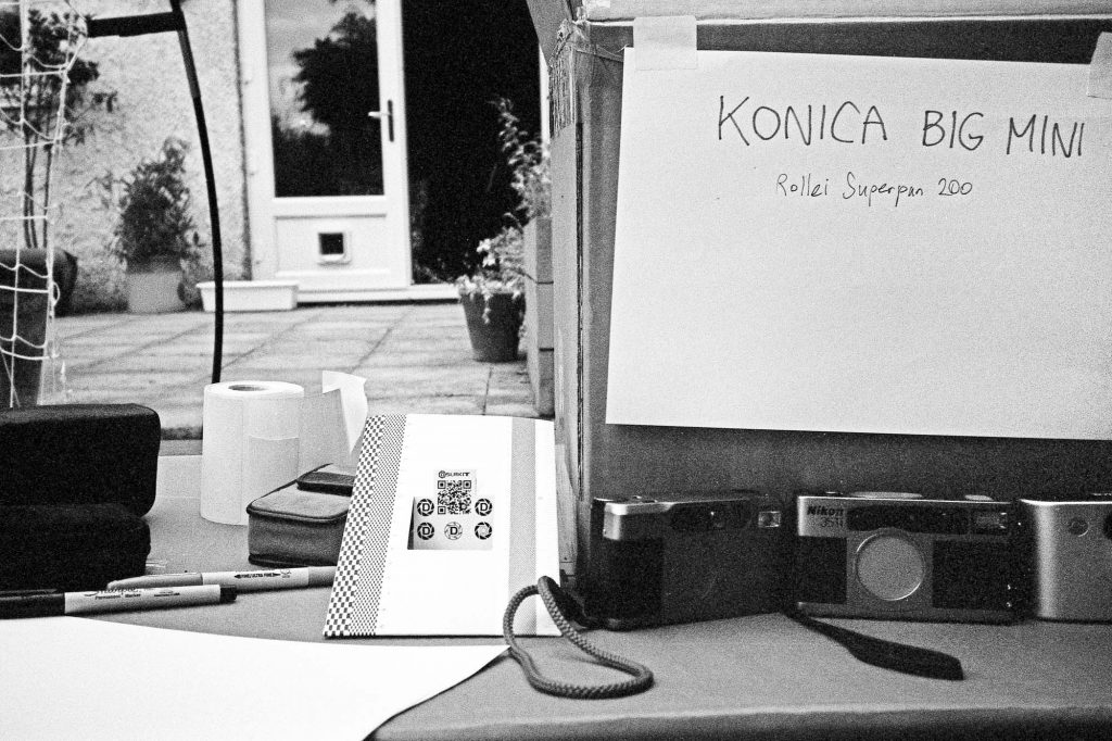Konica Big Mini - Test Shot