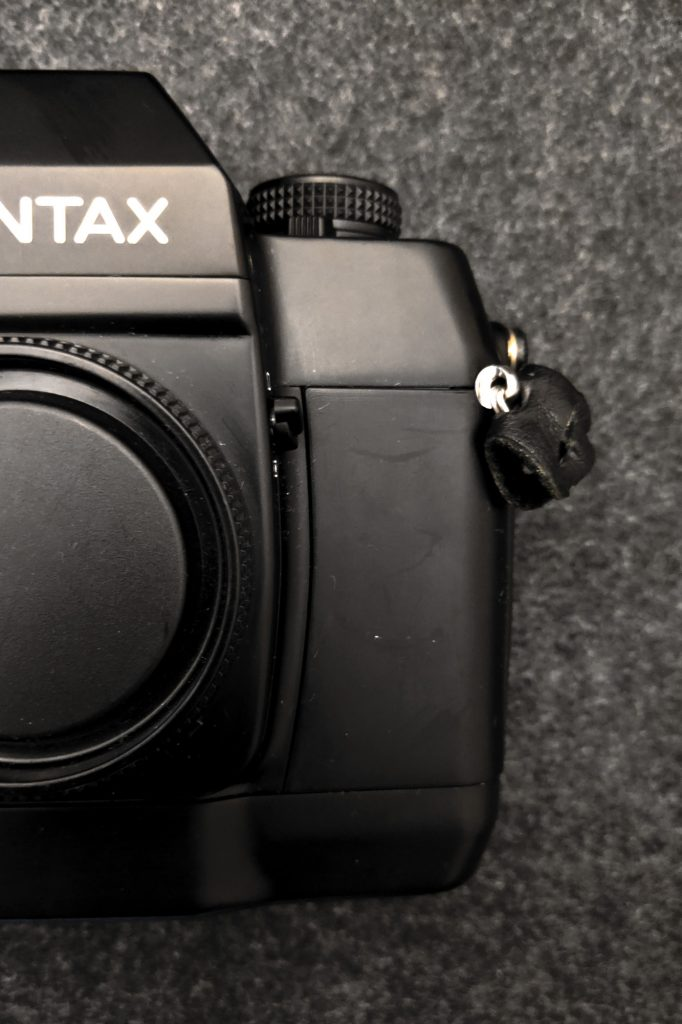 CONTAX AX - Meter mode switch