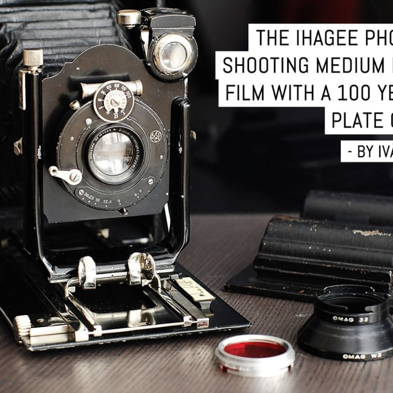 The Ihagee Photorex: shooting medium format with a 100 year-old plate camera