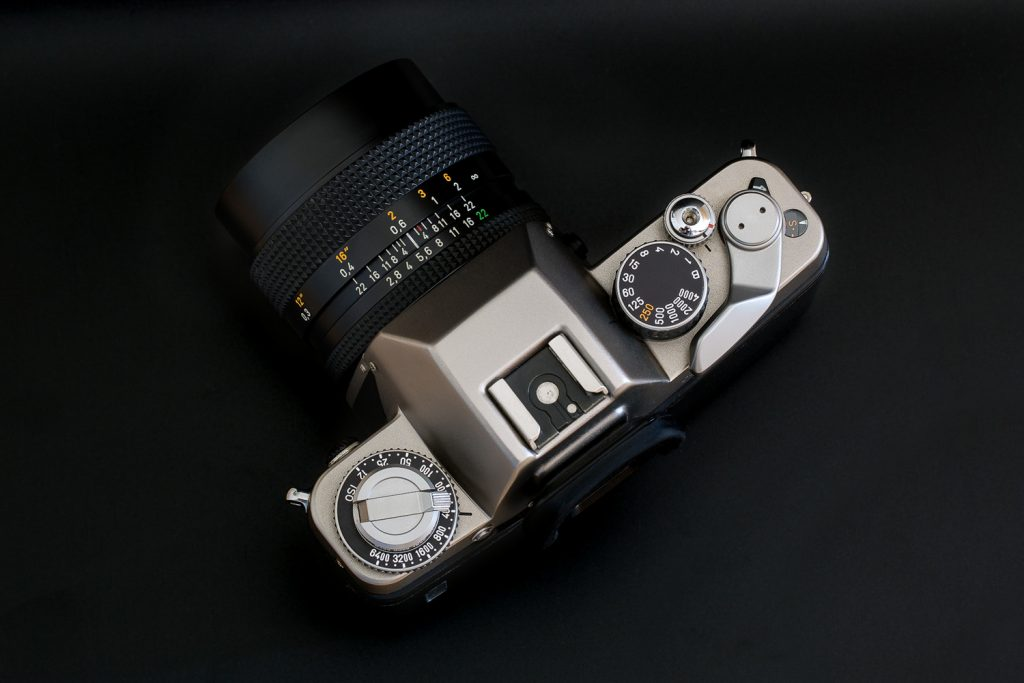 Contax S2 top down