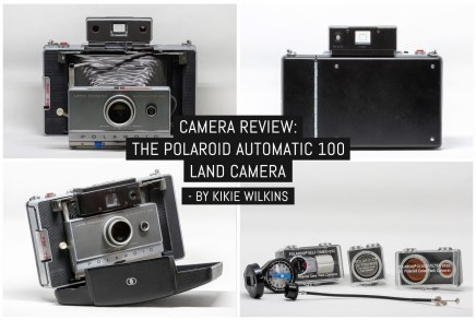 Camera review: The Polaroid Automatic 100 Land Camera - by Kikie Wilkins