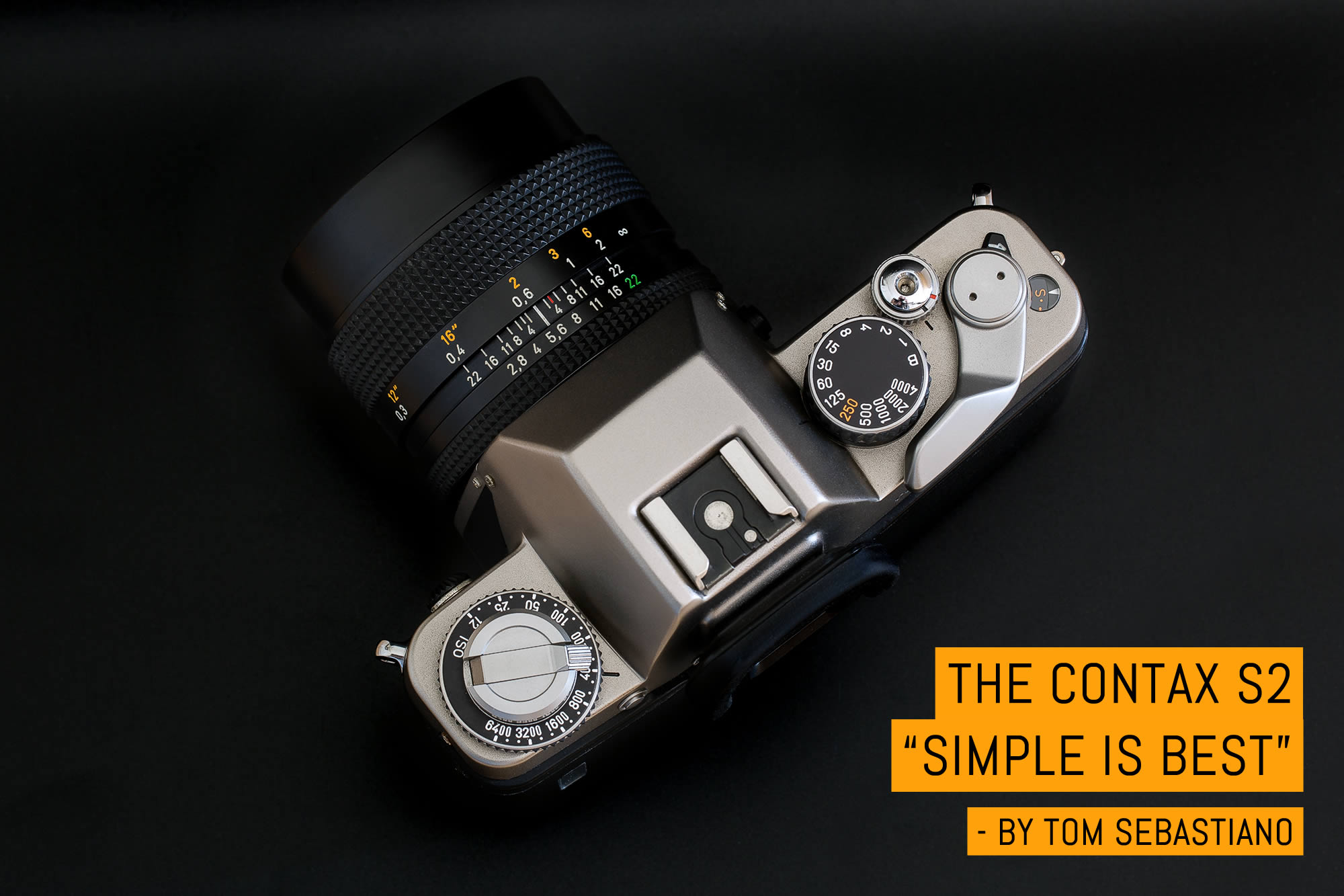 """Camera review- the Contax S2, """"Simple is Best"""" - by Tom Sebastiano"""