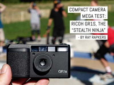 "Cover- Compact camera mega test- Ricoh GR1s, the ""stealth ninja"""