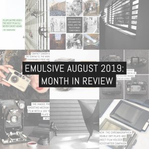 Month in review: August 2019