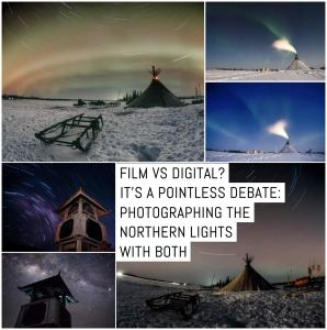 Film vs digital? It's a pointless debate: photographing the Northern Lights
