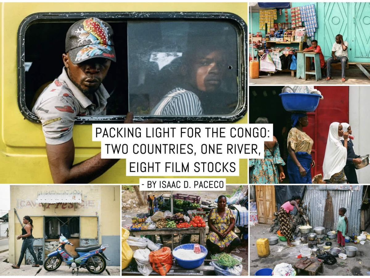Packing light for the Congo: Two countries, one river, eight film stocks