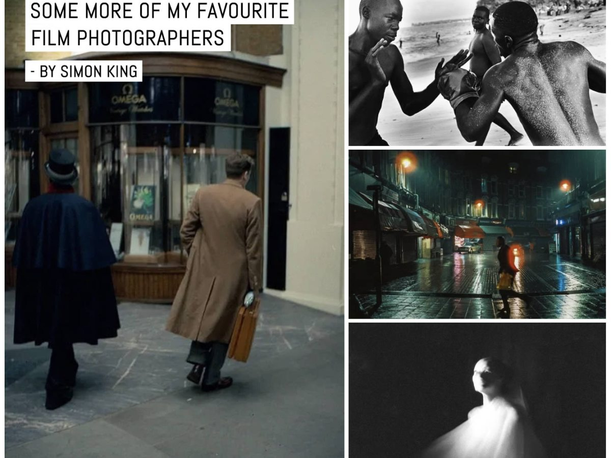 Cover- Some more of my favourite film photographers - by Simon King