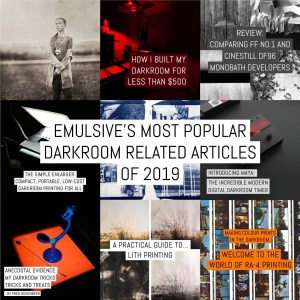 EMULSIVE's most popular darkroom related articles of 2019