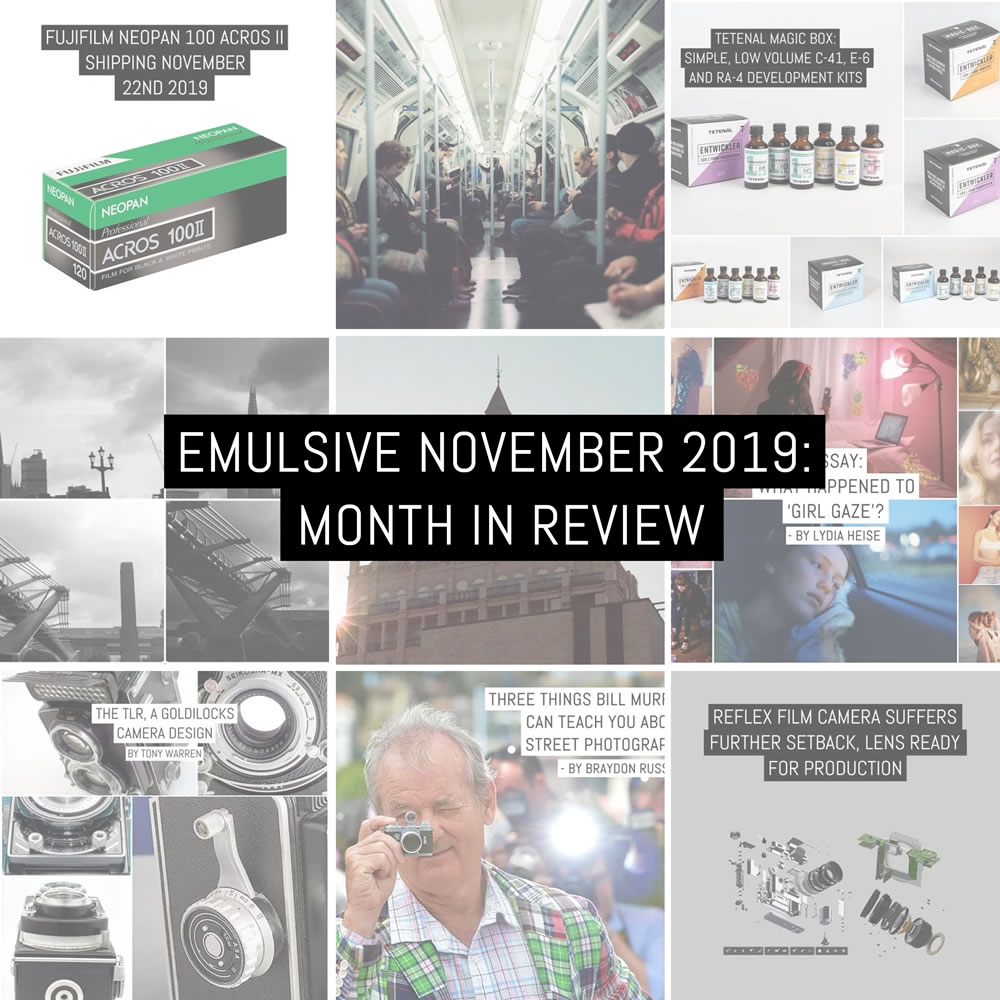 Month in review: 2019 November