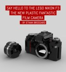 "Say hello to the LEGO Nikon F3, the new ""plastic fantastic"" film camera"