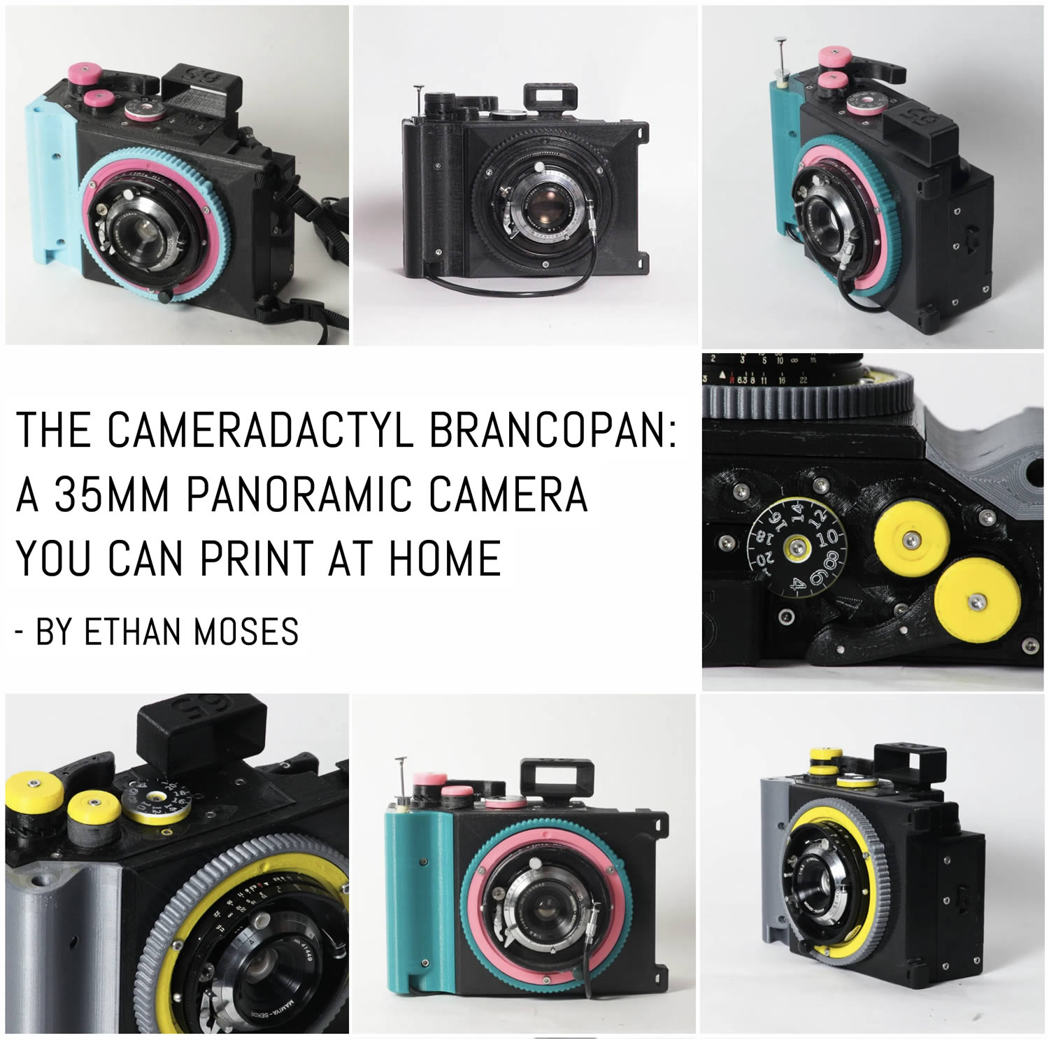The CAMERADACTYL Brancopan is a 35mm panoramic camera you can print at home