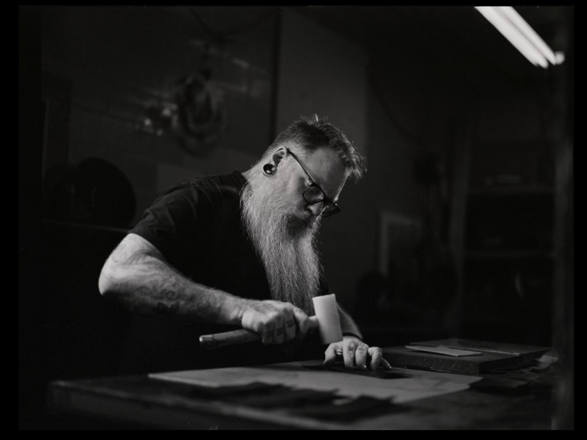 Jeffrey - ILFORD HP5 PLUS - Another from my makers series. I fucking love capturing people as they create things.