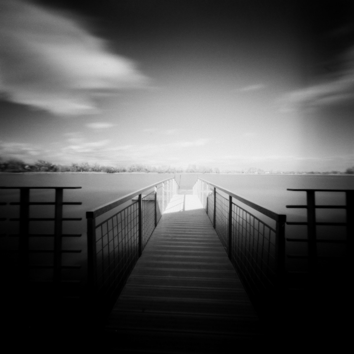 5 Frames With... ILFORD Delta 100 Professional (EI 100 / 120 format / Reality So Subtle 6X6F Pinhole) - by Kathleen E. Johnson