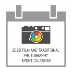 2020 film and traditional photography event calendar