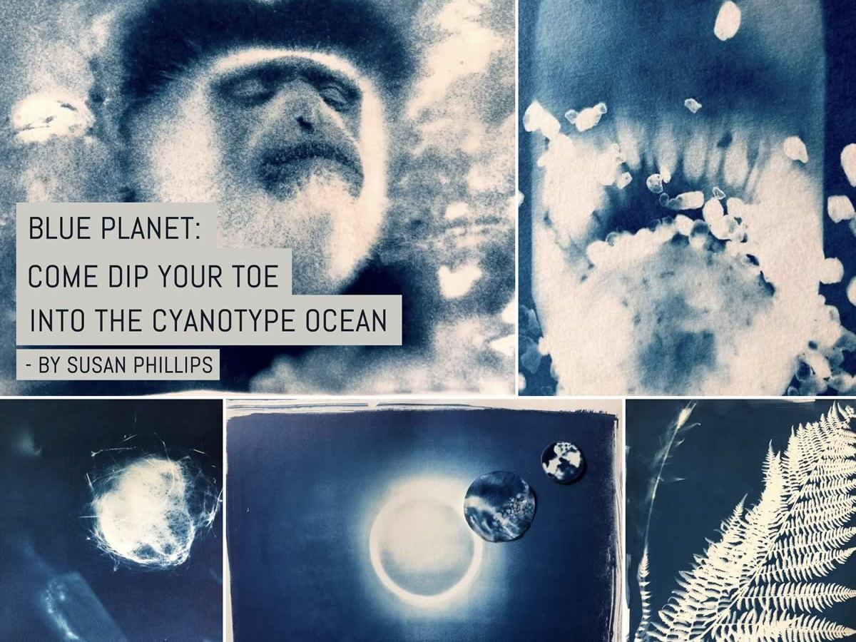 Blue Planet: Come dip your toe into the Cyanotype ocean