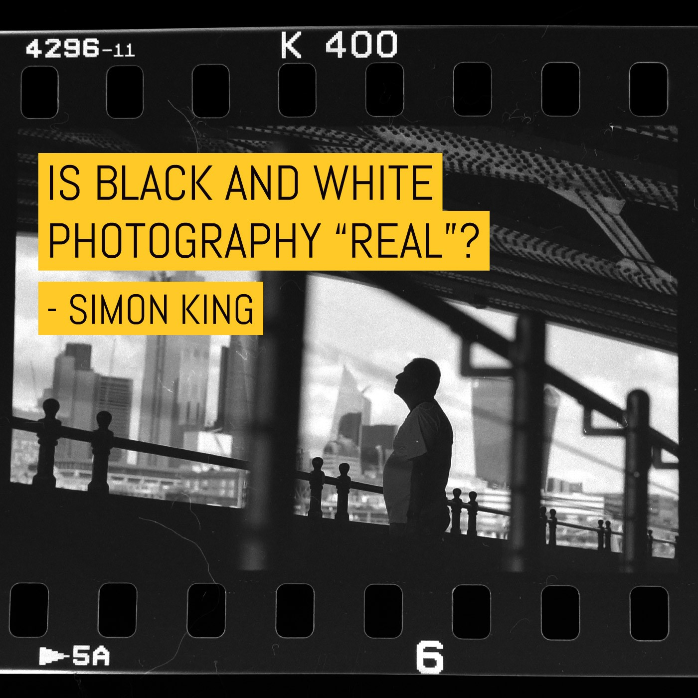 """Is black and white photography """"real""""?"""