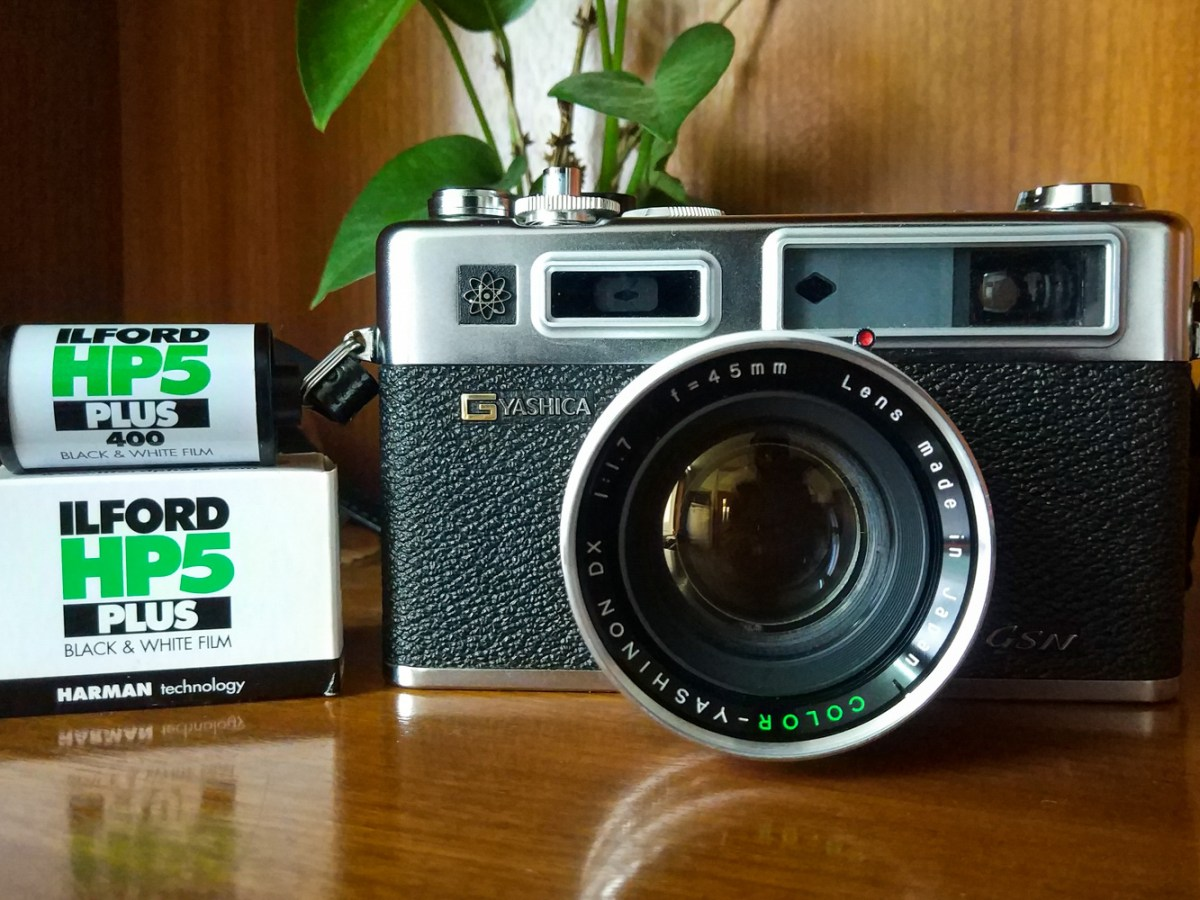 My Yashica Electro GSN and ILFORD HP5 PLUS film