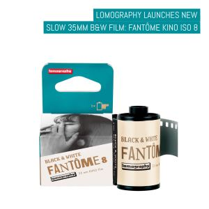 Lomography launches new slow 35mm B&W film- Fantôme Kino ISO 8