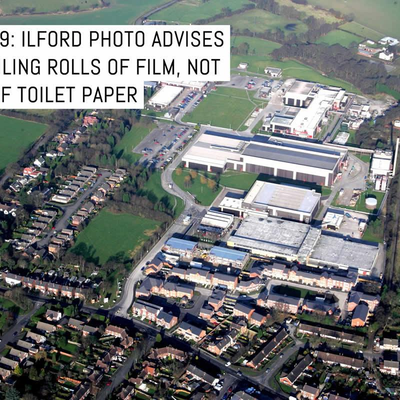 On COVID-19, ILFORD Photo suggest stockpiling rolls of film, not toilet paper