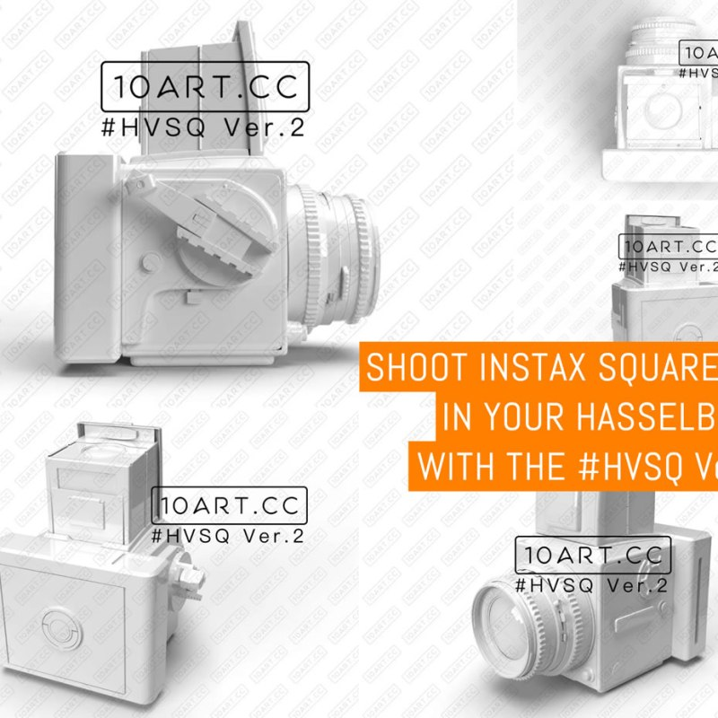Shoot Instax Square on your Hasselblad with the #HVSQ Ver.2