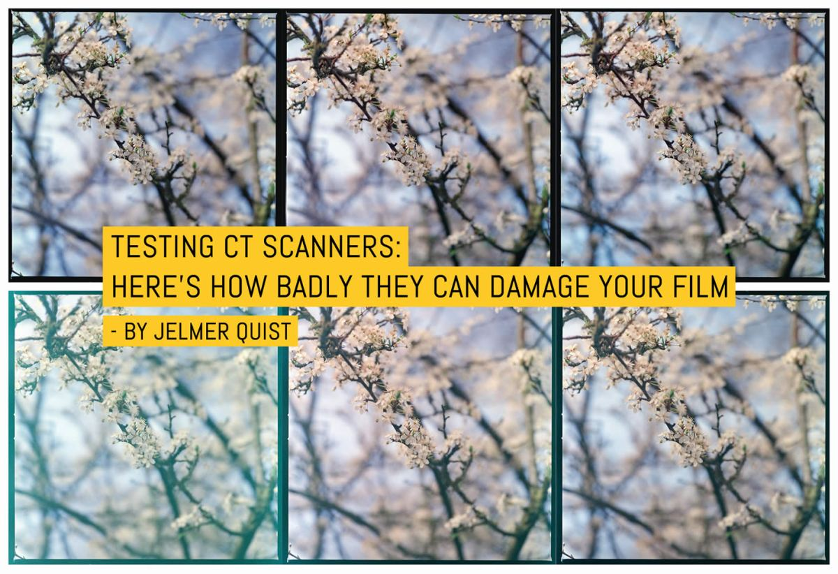 Testing CT Scanners: Here's how badly they can damage your film