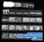The Paradox of cluttered contact sheets - by Simon King
