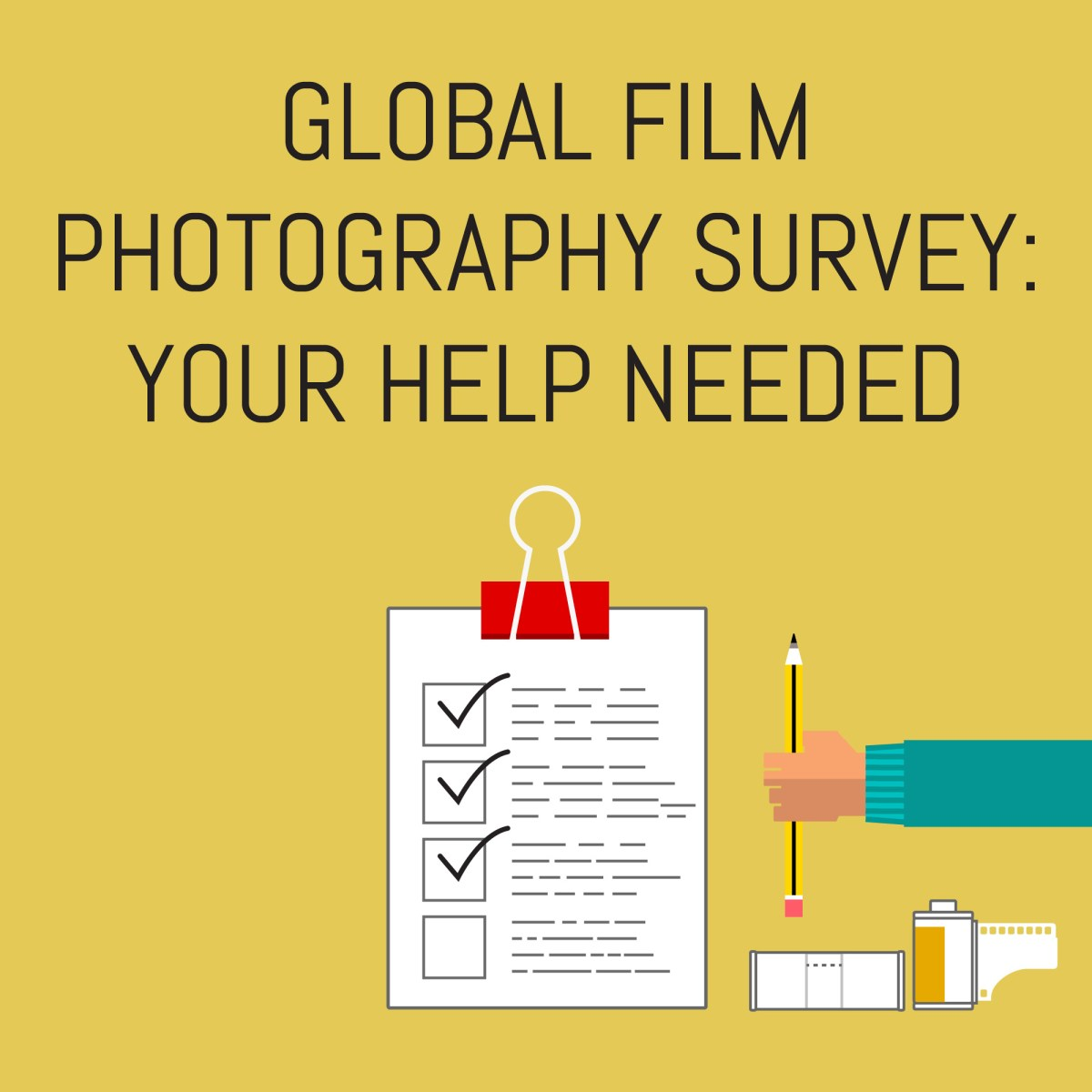 Global film photography survey: Your help needed