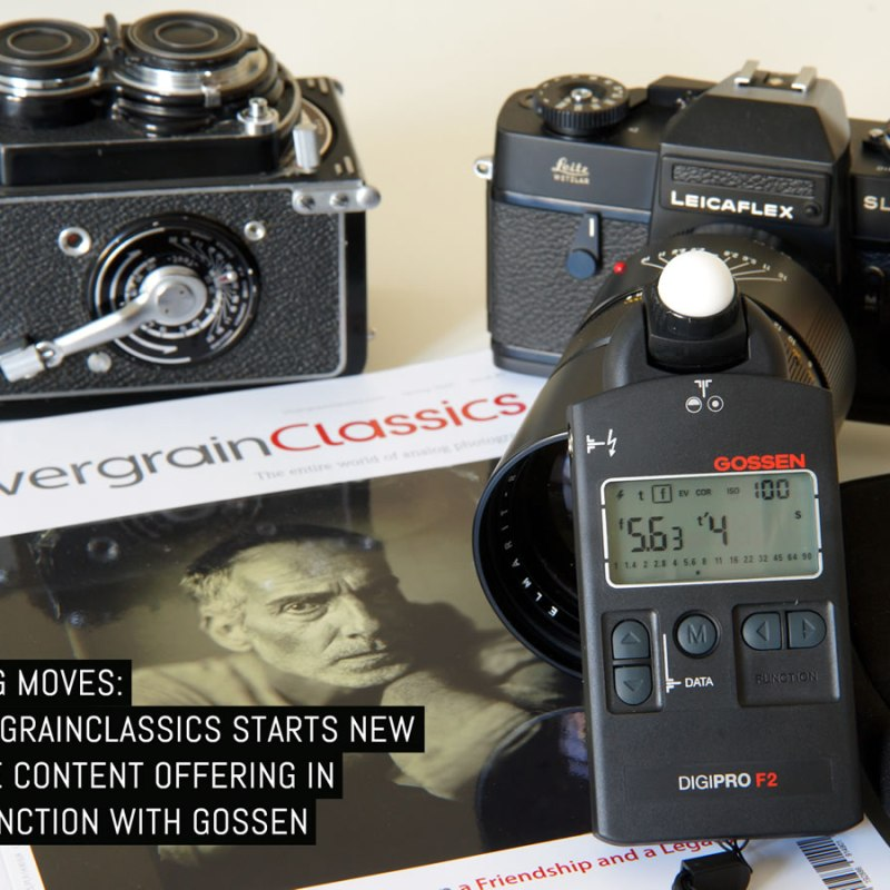 Making moves: SilvergrainClassics starts new online content offering in conjunction with Gossen