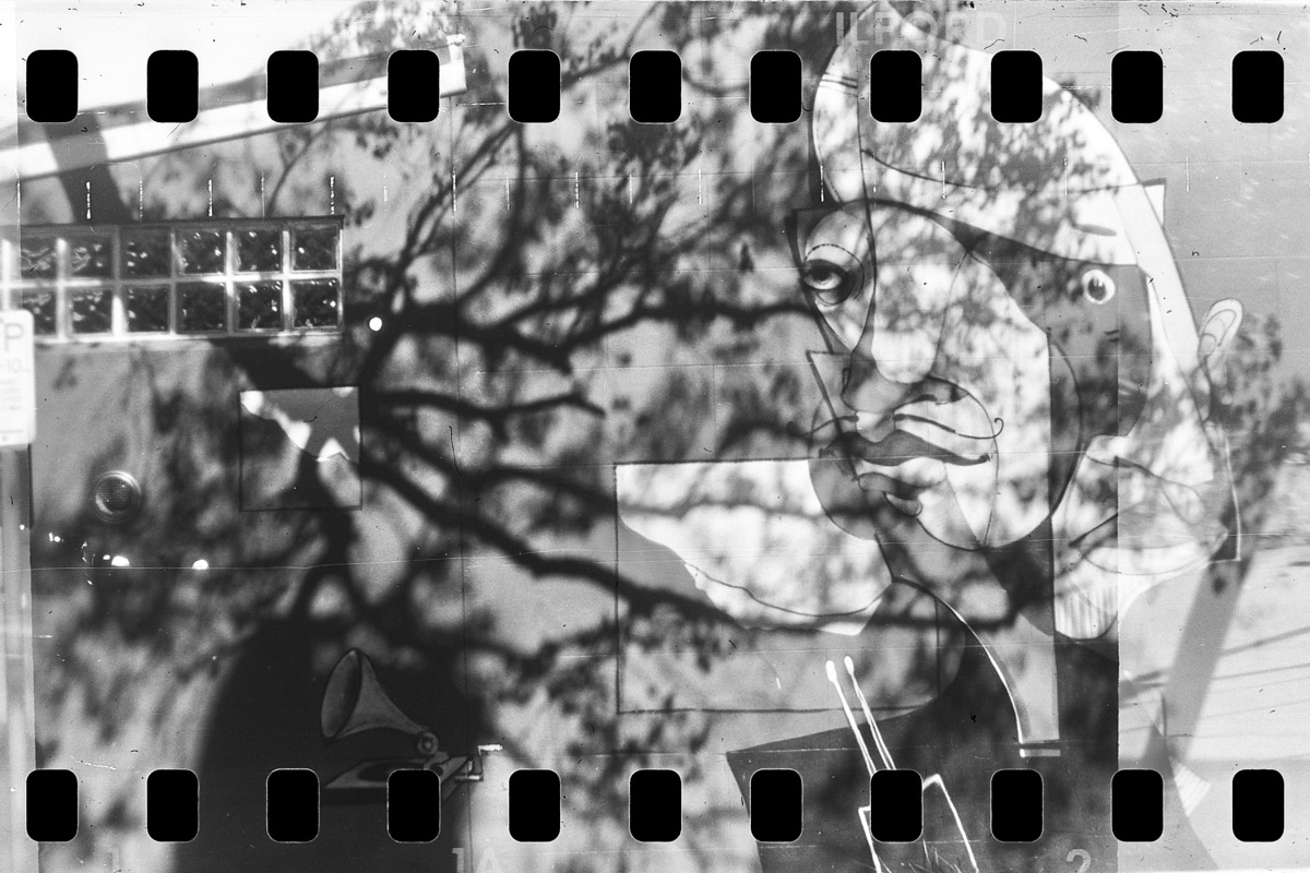 5 Frames... Of 35mm film in a Kodak Brownie 1B (EI 125 / 35mm format / ILFORD FP4 PLUS) - by Christopher James