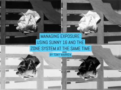 Managing exposure: Using Sunny 16 and the Zone System at the same time