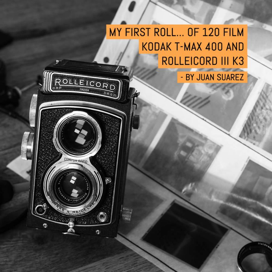 My first roll... Of 120 film - Kodak T-MAX 400 and Rolleicord III K3 by Juan Suarez