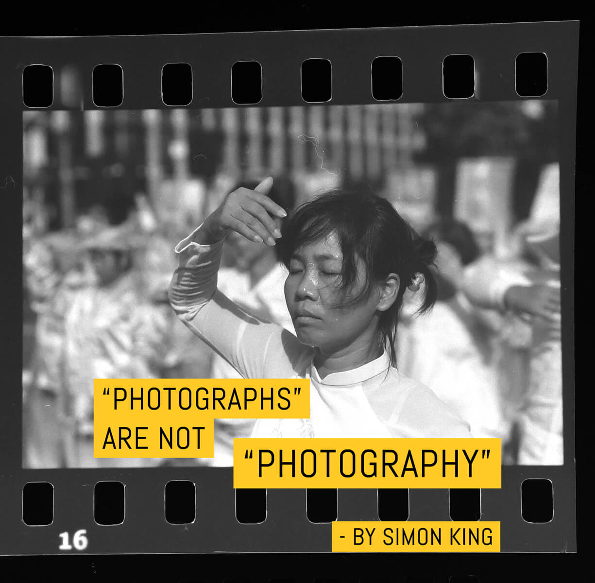 Photographs are not Photography