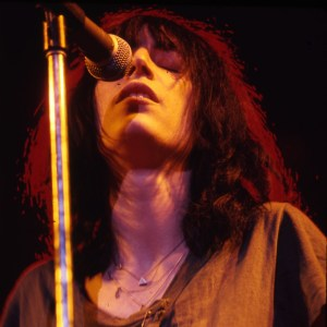Patti Smith - Olympus OM-1n, Kodak Ektachrome