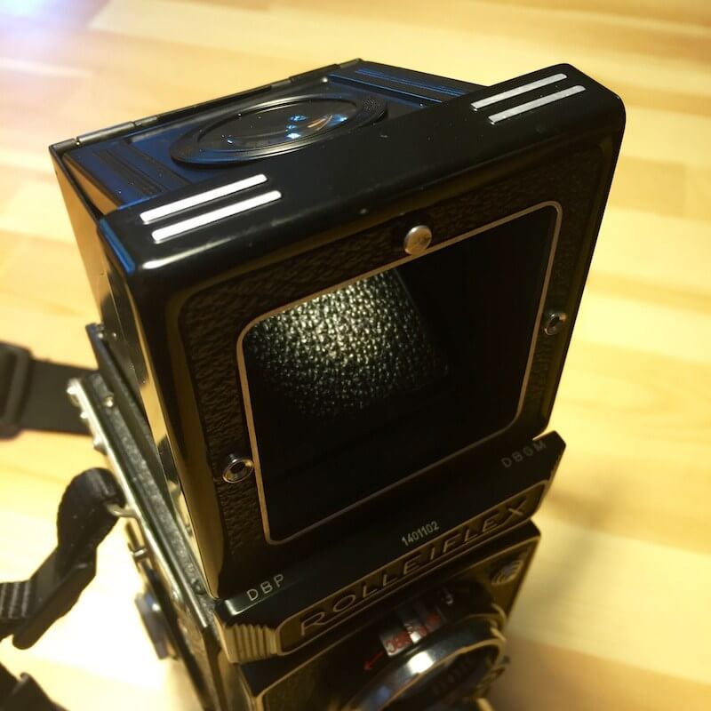 Rolleiflex MX - Actionfinder