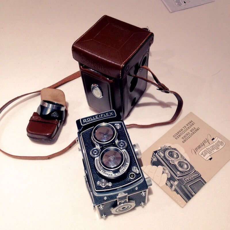 Rolleiflex MX - As received