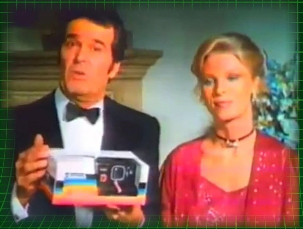 Celebs selling Polaroids - Another Time Zero commercial, starring James Garner and Mariette Hartley