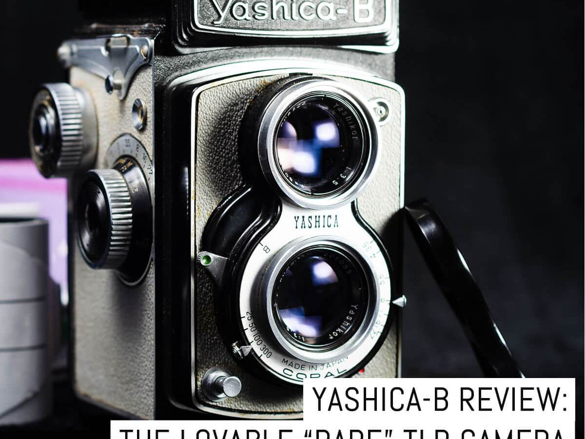 """Yashica-B review: the lovable """"rare"""" TLR camera"""