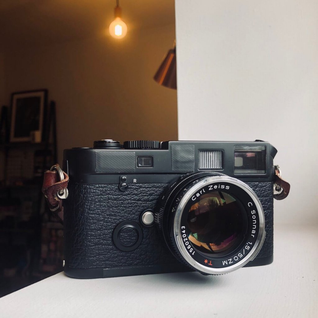 Leica M6 TTL 0.85 and Carl Zeiss 50mm Sonnar f/1.5 ZM - Image credit: Kris Askey