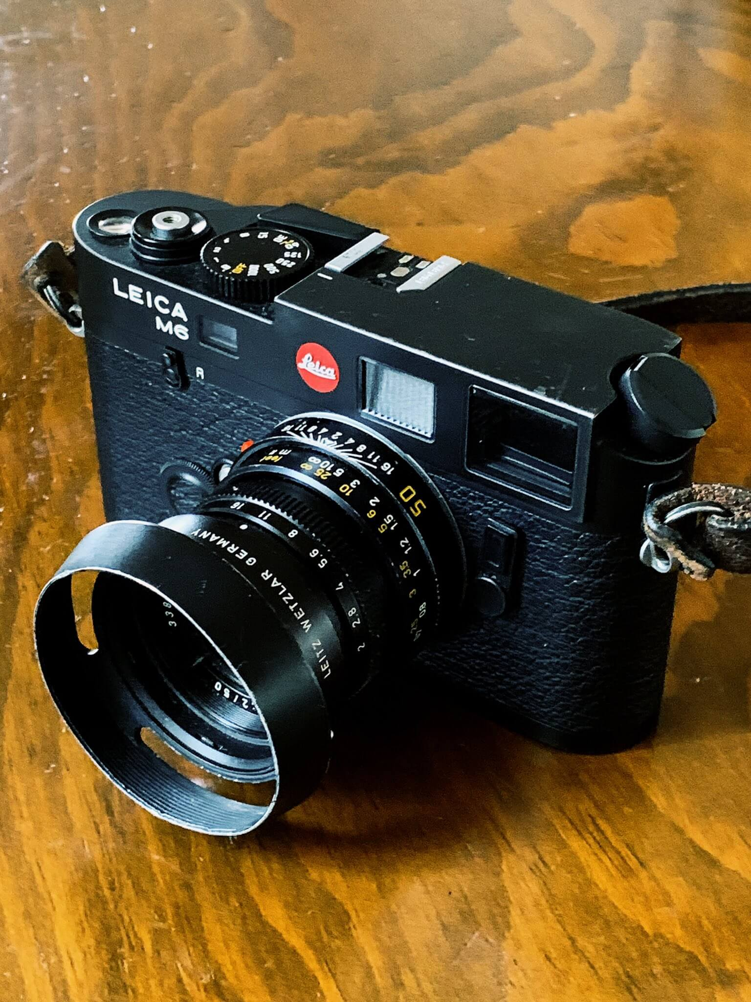 Leica M6 TTL 0.85 and Leica Summicron 50mm f/2 v4 - Credit: Damien A Weidner