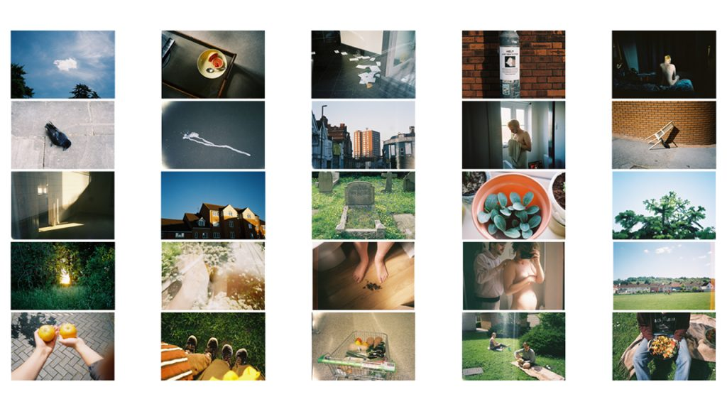A contact sheet of a number of varied photographs