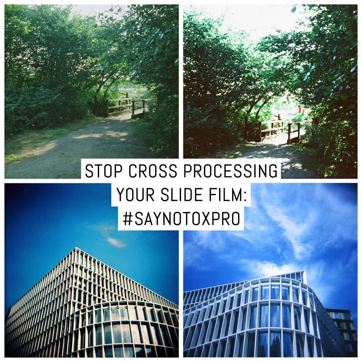 Cover - Stop cross processing your slide film- #Saynotoxpro - by Sandeep Sumal