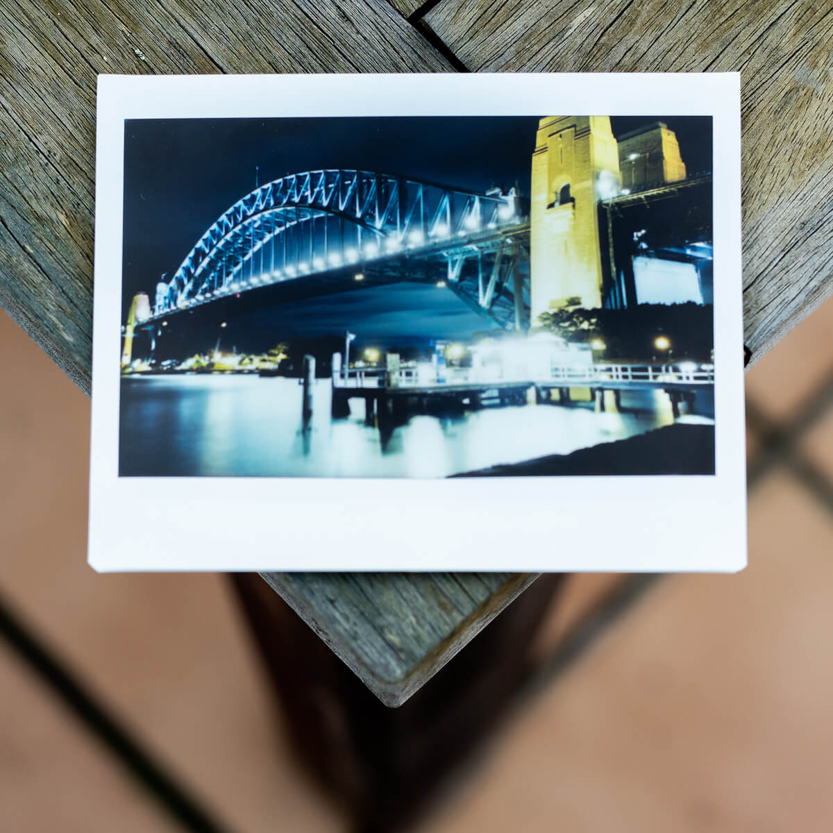 MiNT Instakon RF70 + Fujifilm Instax Wide - Bridge and Wharf