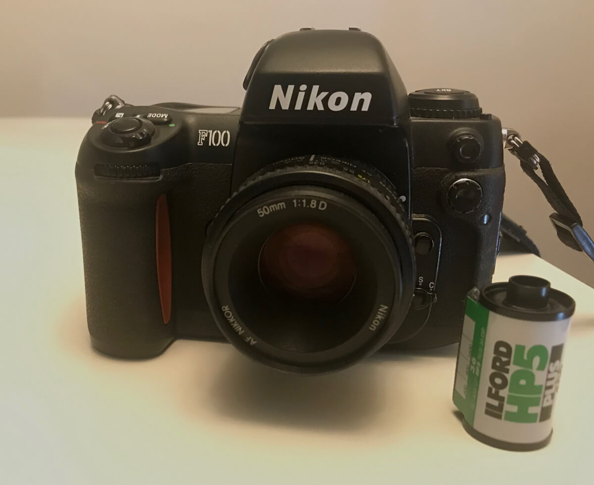 My Nikon F100 and Nikkor 50mm f/1.8D, Andrew Hyder