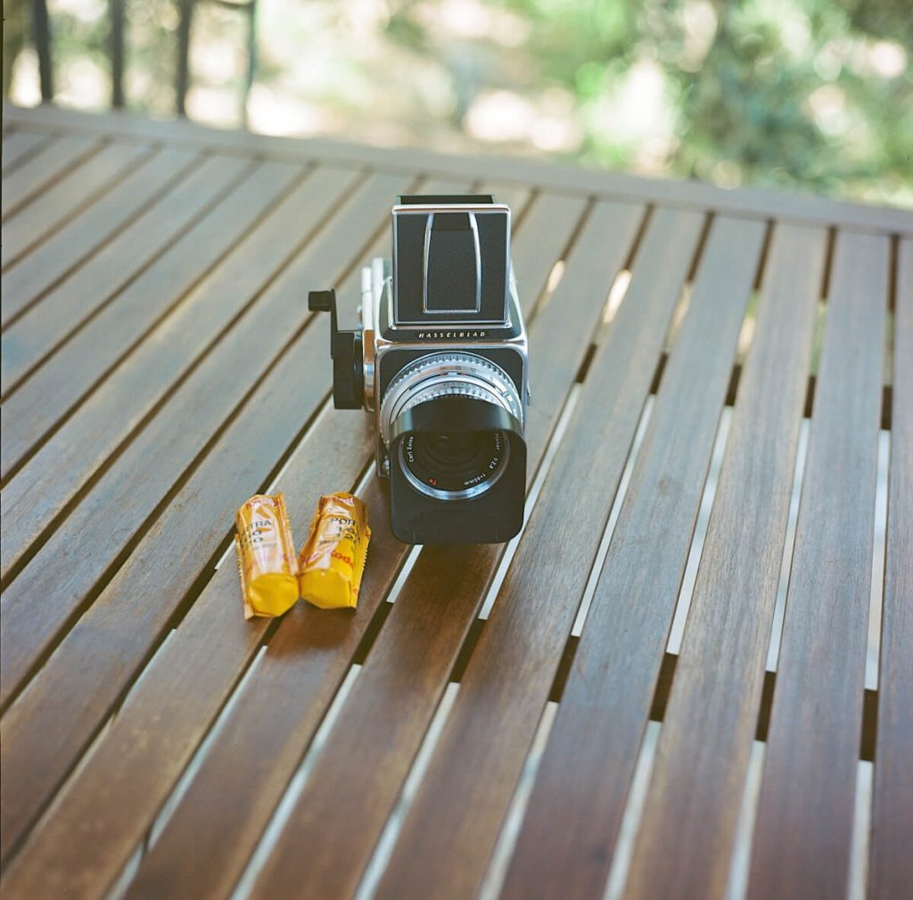 My Hasselblad 500C/M and 80mm f/2.8 Planar C lens