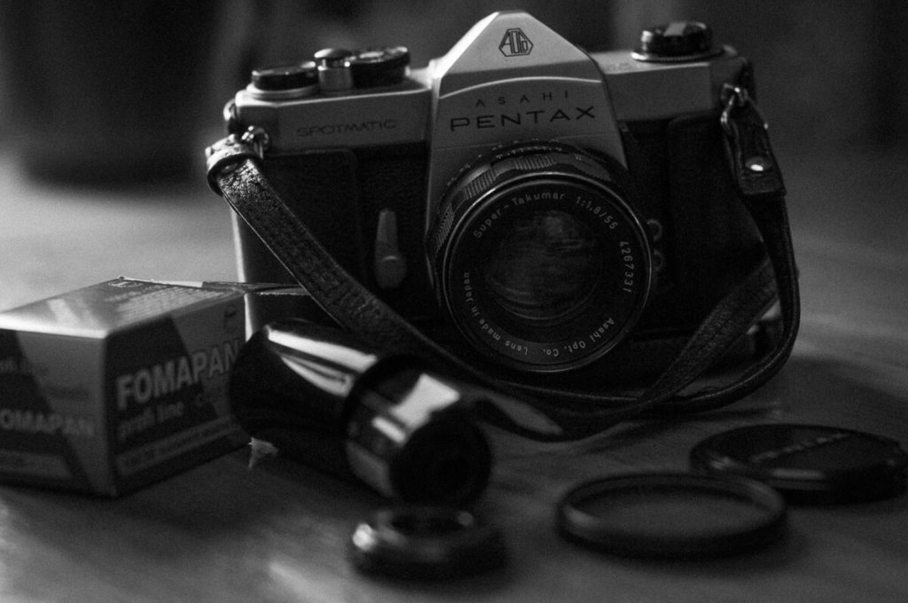 My Pentax Spotmatic SP + Takumar 55mm f:1.8, Martin Kelley